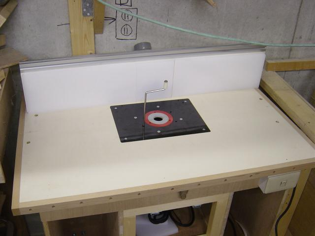 Router table page two the only problem ive had is that the dust cap thing that you install into the router table insert plate needs a 12 127mm hole drilled greentooth