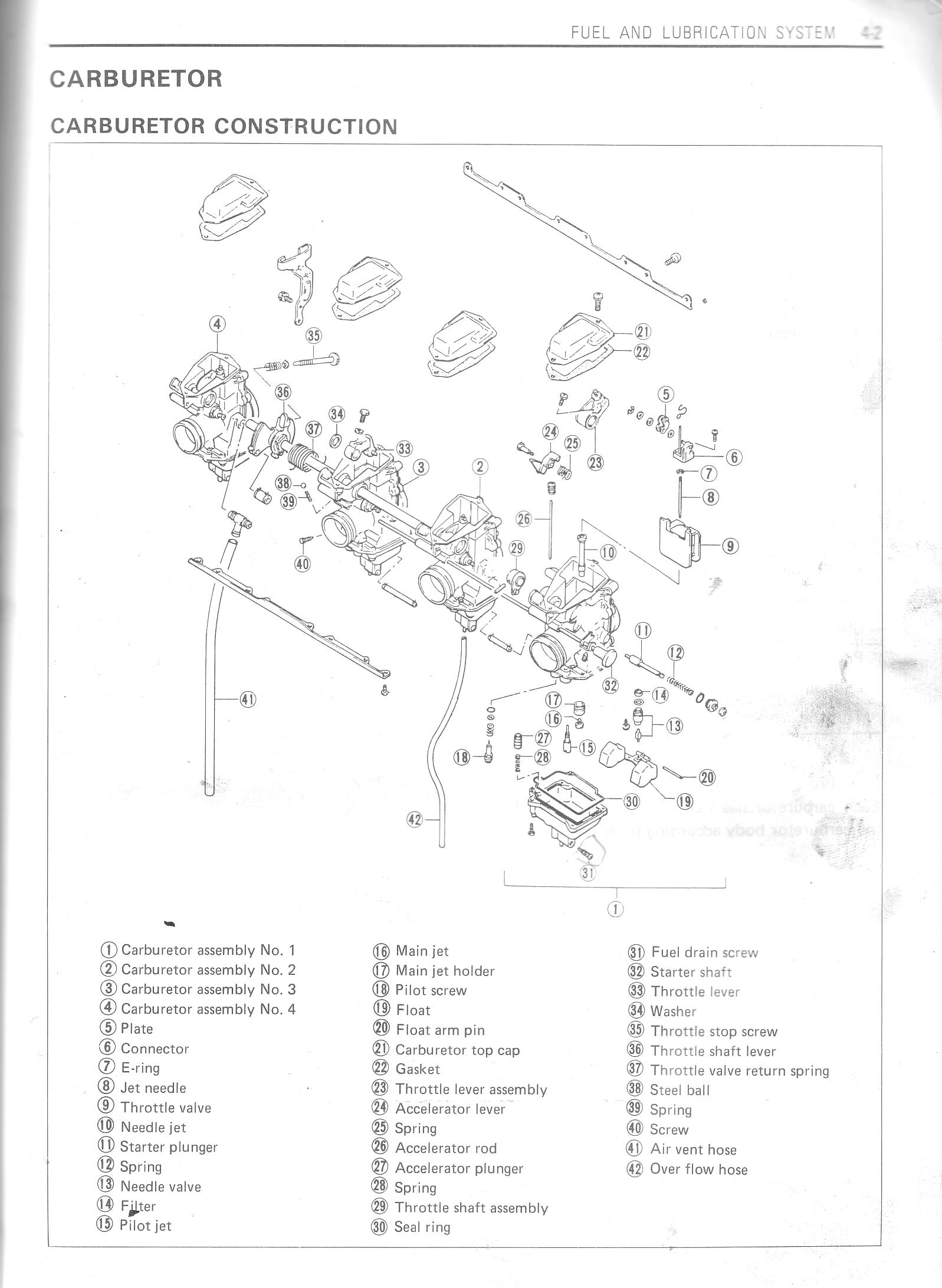 Ke100 Wiring Diagram Page 5 And Schematics Kawasaki G5 100 1985